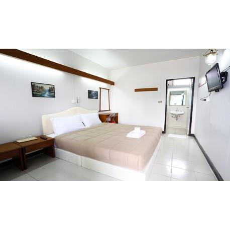 ห้องแอร์มาตรฐานเตียงเดี่ยว (Standard Single Bed Room with Air Conditioner)